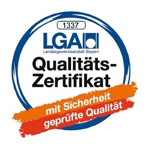 Badenia LGA Qualitäts Zertifikat