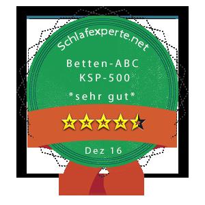 Betten-ABC-OrthoMatra-KSP-500-Wertung