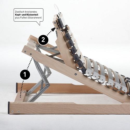 Ravensberger Medimed Kopfteil höhenverstellbar