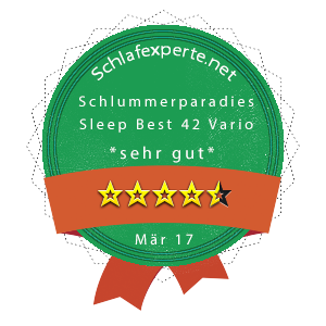 Schlummerparadies-Sleep-Best-42-Vario-Wertung