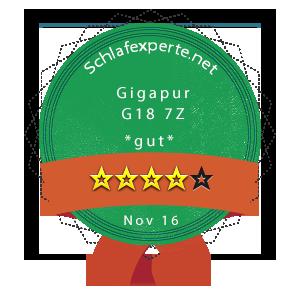 Gigapur-G18-Wertung