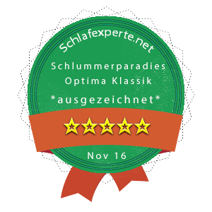 Schlummerparadies-Optima-Klassik-Wertung