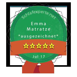 Emma-Matratze-Wertung