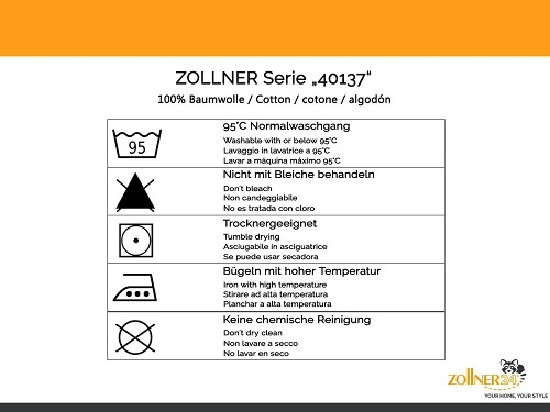 Zollner Matratzenauflage Datenblatt