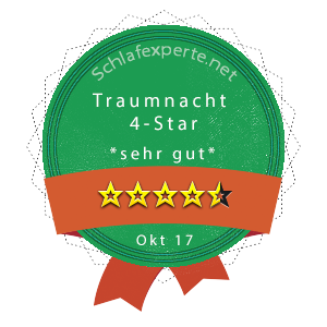 Traumnacht-4-Star-Wertung