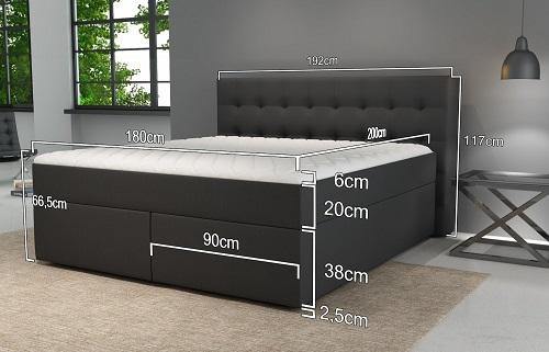 Betten Jumbo King Maße