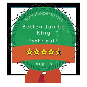 Betten-Jumbo-King-Wertung