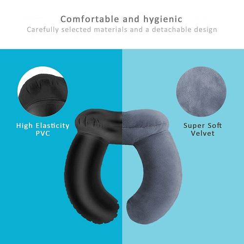 Izuku Reisekissen komfortabel und hygienisch