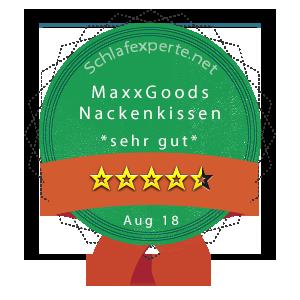 MaxxGoods-Nackenkissen-Wertung
