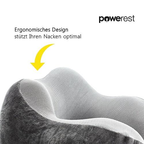 Powerest Reise Nackenkissen Design ergonomisch