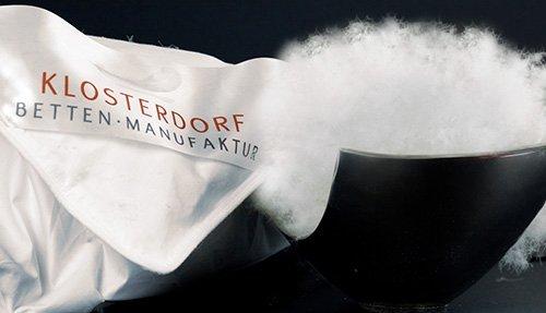 Klosterdorf Kopfkissen funktionell Daunen