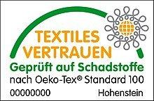 Welt-der-Träume Kopfkissen textiles Vertrauen Siegel