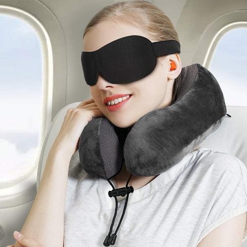 Power Of Nature Nackenkissen auch beim fliegen perfekt
